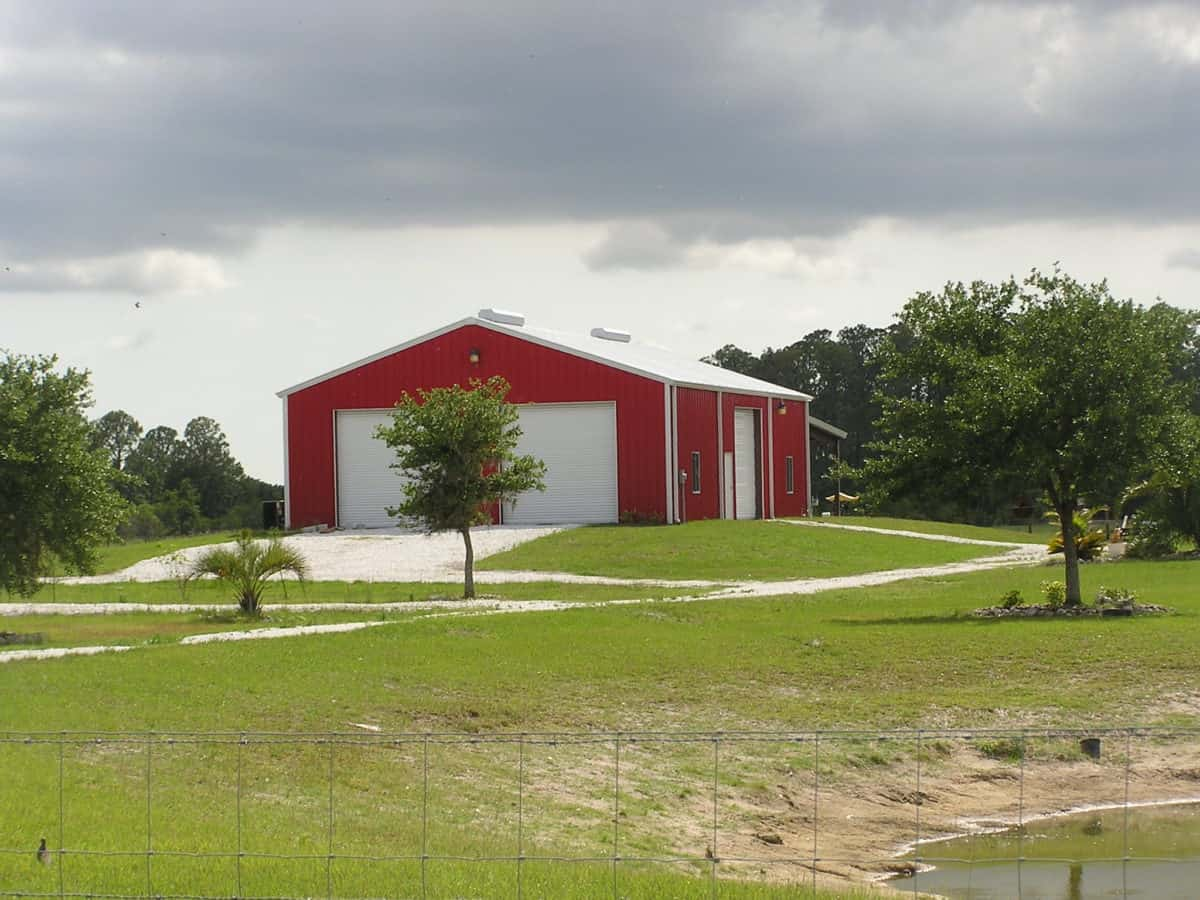 Steel Barn & Attached Steel Canopy In Bradenton, FL | MBMI ...