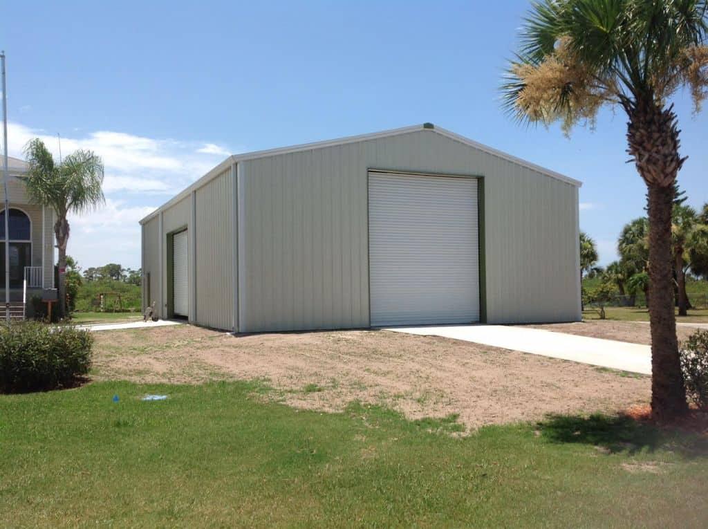 Big Garage In Florida 40 X 60 Mbmi Metal Buildings